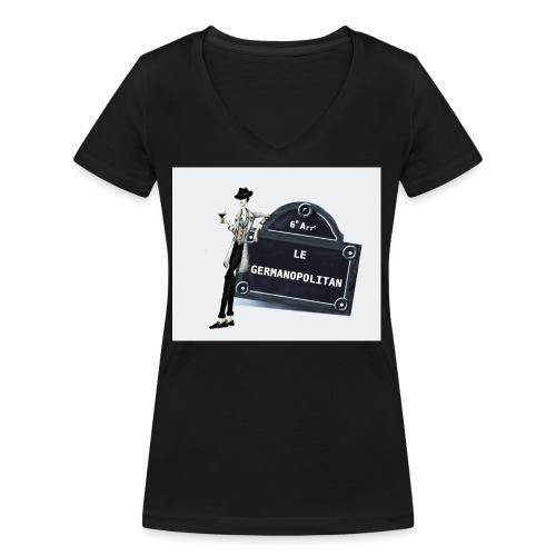 Sac Le Germanopolitan - T-shirt bio col V Stanley & Stella Femme