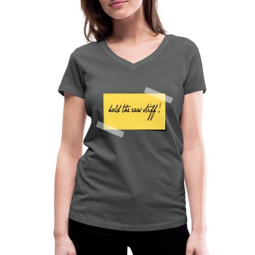 hold the ears stiff - Frauen Bio-T-Shirt mit V-Ausschnitt von Stanley & Stella