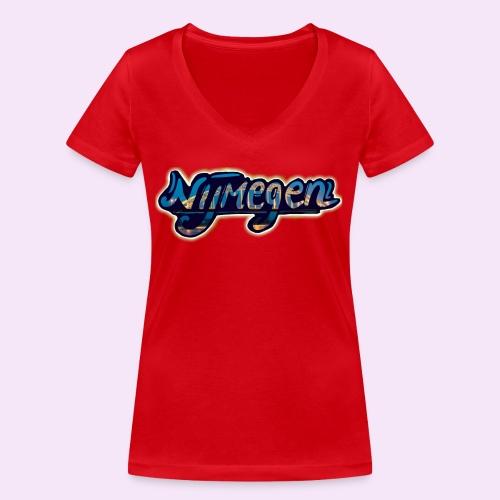 Nijmegen brug - Vrouwen bio T-shirt met V-hals van Stanley & Stella