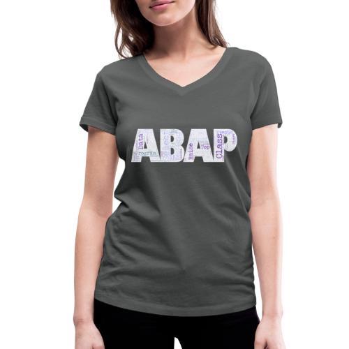 ABAP - Frauen Bio-T-Shirt mit V-Ausschnitt von Stanley & Stella