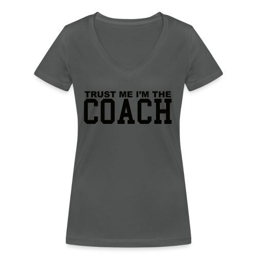 Coach - T-shirt bio col V Stanley & Stella Femme