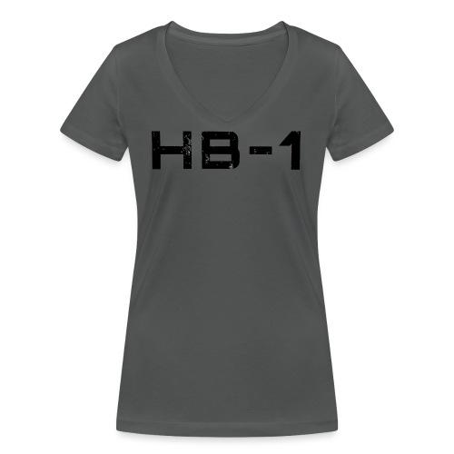 HB1 TRACED 4000 png - Frauen Bio-T-Shirt mit V-Ausschnitt von Stanley & Stella