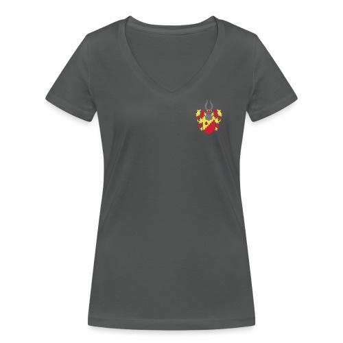 vollwappen - Frauen Bio-T-Shirt mit V-Ausschnitt von Stanley & Stella