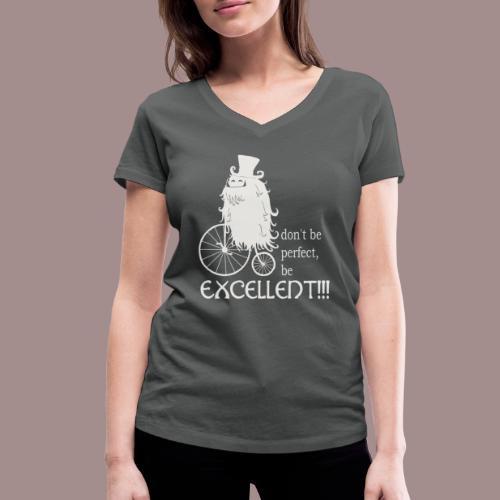 Excellent1 - Frauen Bio-T-Shirt mit V-Ausschnitt von Stanley & Stella