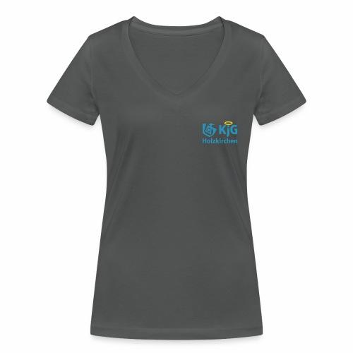 KjG Holzkirchen Kurz - Frauen Bio-T-Shirt mit V-Ausschnitt von Stanley & Stella