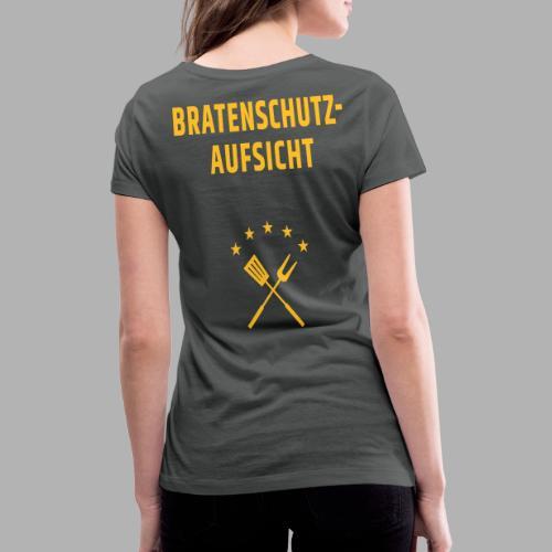 EU Bratenschutz-Aufsicht - Frauen Bio-T-Shirt mit V-Ausschnitt von Stanley & Stella