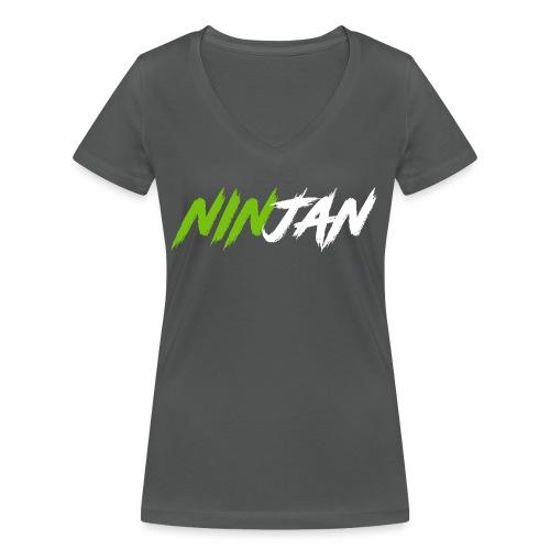 spate - Women's Organic V-Neck T-Shirt by Stanley & Stella