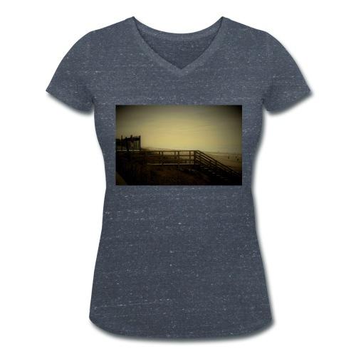 Steg - Frauen Bio-T-Shirt mit V-Ausschnitt von Stanley & Stella