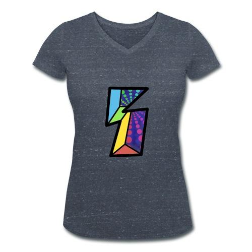 Fissure - T-shirt bio col V Stanley & Stella Femme