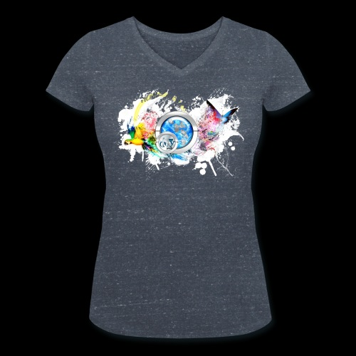 botyone bird+(a4) - T-shirt bio col V Stanley & Stella Femme