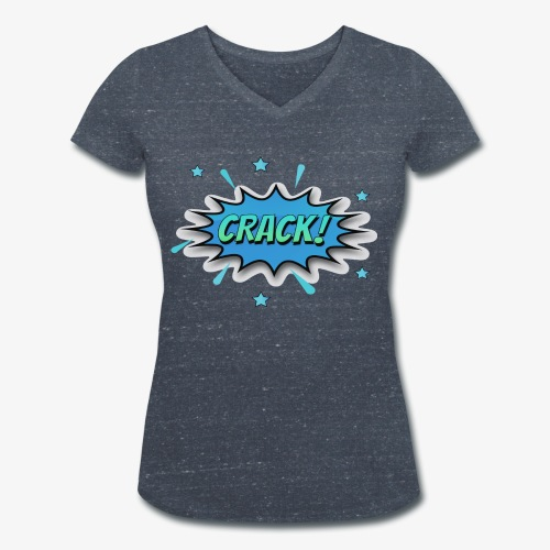 Dibujos Animados 01 - Camiseta ecológica mujer con cuello de pico de Stanley & Stella