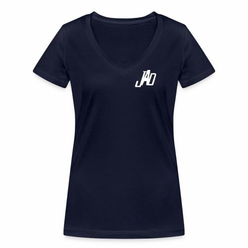 JennaAdlerDesigns - Ekologisk T-shirt med V-ringning dam från Stanley & Stella