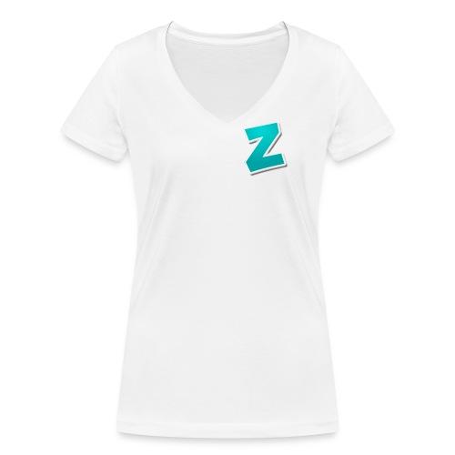 Z3RVO Logo! - Women's Organic V-Neck T-Shirt by Stanley & Stella