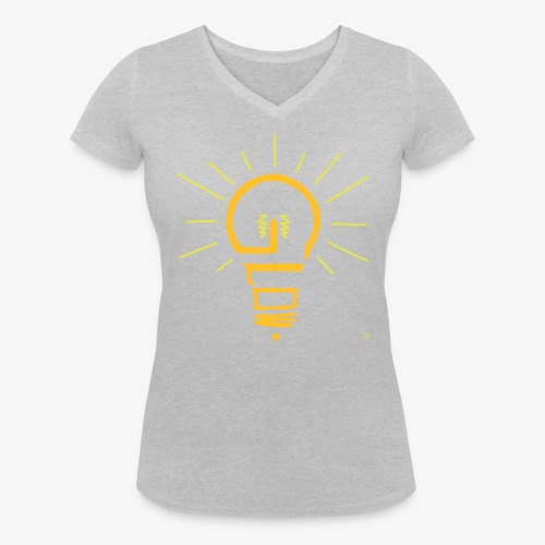 Glow - Frauen Bio-T-Shirt mit V-Ausschnitt von Stanley & Stella