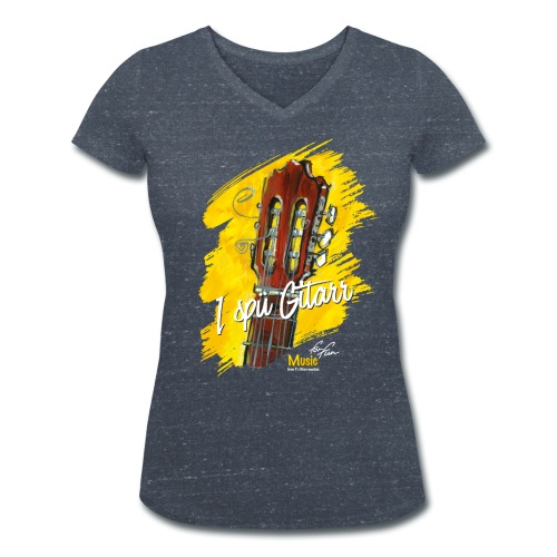 I spü Gitarr - limited edition '19 - Frauen Bio-T-Shirt mit V-Ausschnitt von Stanley & Stella