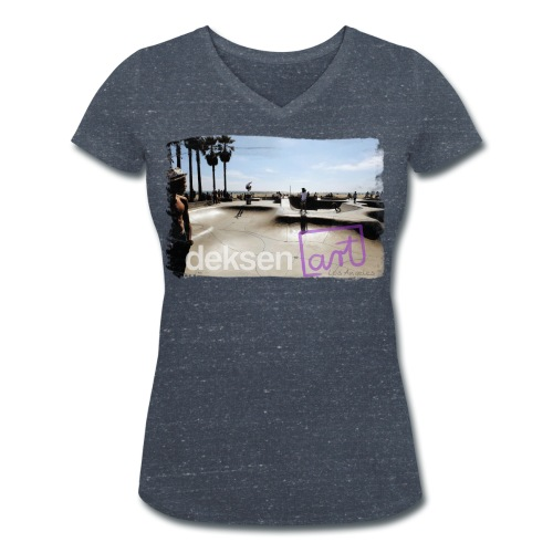Los Angeles Part 2 - Vrouwen bio T-shirt met V-hals van Stanley & Stella