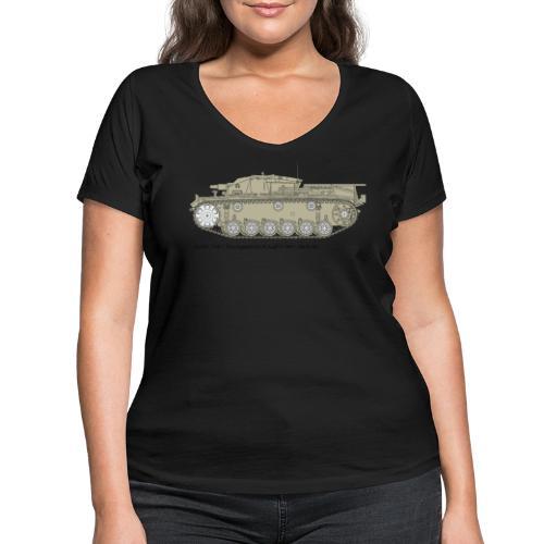 Stug III Ausf D. - Frauen Bio-T-Shirt mit V-Ausschnitt von Stanley & Stella