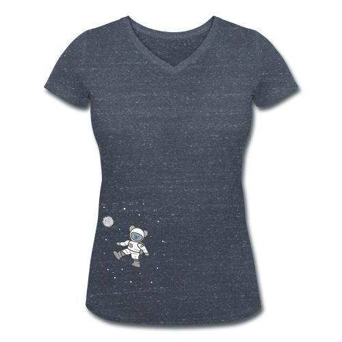 Astronaut - Frauen Bio-T-Shirt mit V-Ausschnitt von Stanley & Stella