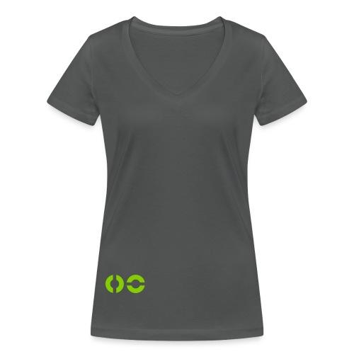 Bildmarke - Frauen Bio-T-Shirt mit V-Ausschnitt von Stanley & Stella