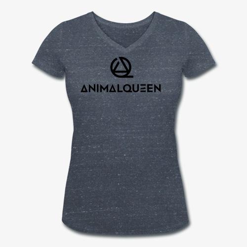 Animal Queen - Full Logo - Frauen Bio-T-Shirt mit V-Ausschnitt von Stanley & Stella