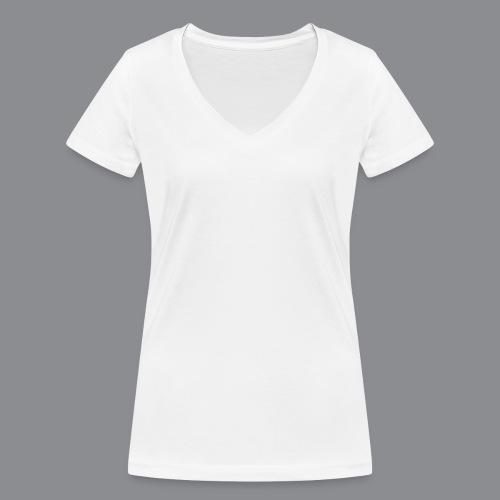 SouthTyrol Kreis weiß - Frauen Bio-T-Shirt mit V-Ausschnitt von Stanley & Stella