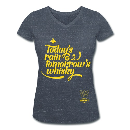 Today s Rain - Women's Organic V-Neck T-Shirt by Stanley & Stella