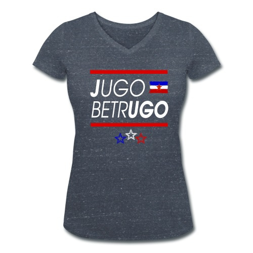Jugo Betrugo Bild png - Frauen Bio-T-Shirt mit V-Ausschnitt von Stanley & Stella