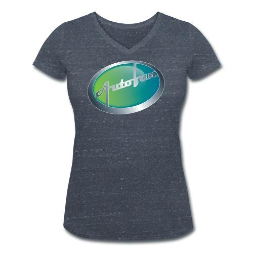 Autofan groen - Vrouwen bio T-shirt met V-hals van Stanley & Stella