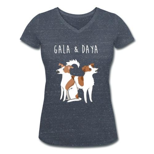 Gala und Daya shirt - Frauen Bio-T-Shirt mit V-Ausschnitt von Stanley & Stella