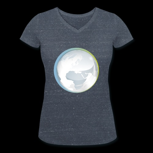 PTS logo new15 beeldmerkS png - Women's Organic V-Neck T-Shirt by Stanley & Stella