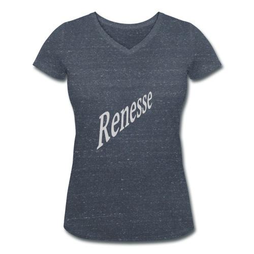 Renesse - Frauen Bio-T-Shirt mit V-Ausschnitt von Stanley & Stella