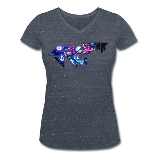 SRG Flower - T-shirt bio col V Stanley & Stella Femme