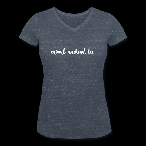 Casual Weekend Tee - Frauen Bio-T-Shirt mit V-Ausschnitt von Stanley & Stella