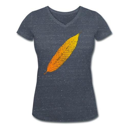 Maroni Golden - Frauen Bio-T-Shirt mit V-Ausschnitt von Stanley & Stella