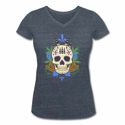 rhum - T-shirt bio col V Stanley & Stella Femme