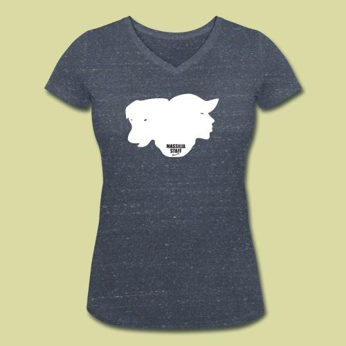 Classik - T-shirt bio col V Stanley & Stella Femme