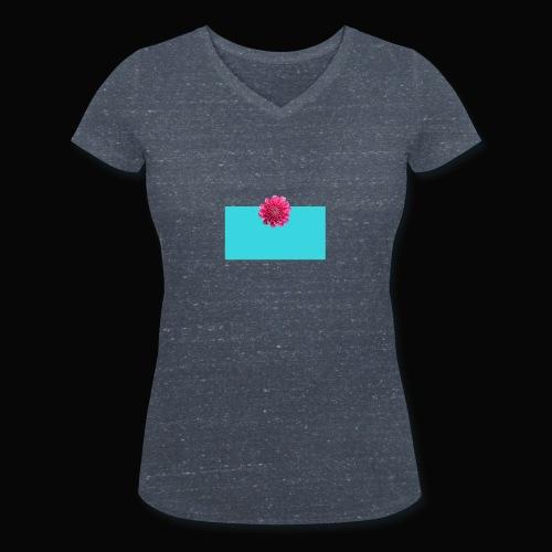 flower - Økologisk T-skjorte med V-hals for kvinner fra Stanley & Stella
