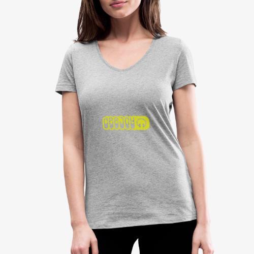 DJ - Camiseta ecológica mujer con cuello de pico de Stanley & Stella