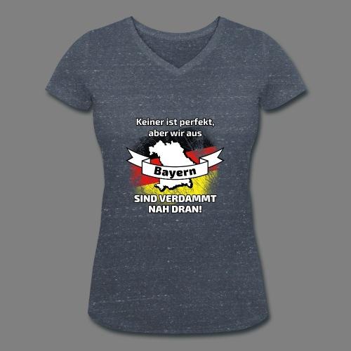 Perfekt Bayern - Frauen Bio-T-Shirt mit V-Ausschnitt von Stanley & Stella