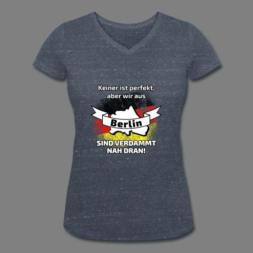 Perfekt Berlin - Frauen Bio-T-Shirt mit V-Ausschnitt von Stanley & Stella