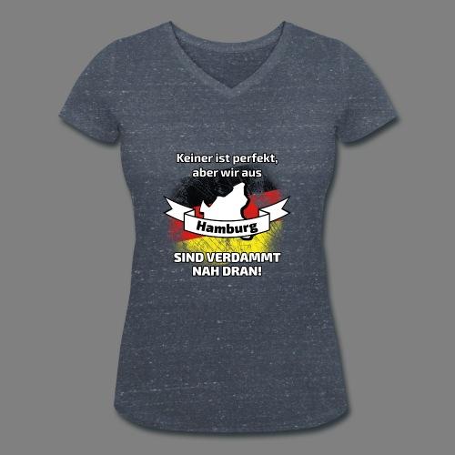 Perfekt Hamburg - Frauen Bio-T-Shirt mit V-Ausschnitt von Stanley & Stella