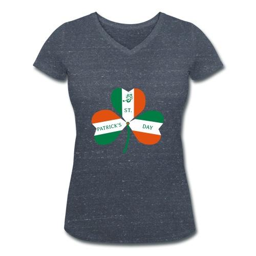 ST PATRICK'S DAY - Frauen Bio-T-Shirt mit V-Ausschnitt von Stanley & Stella