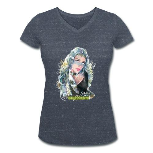 Sagittaire By Yo&Dee - T-shirt bio col V Stanley & Stella Femme