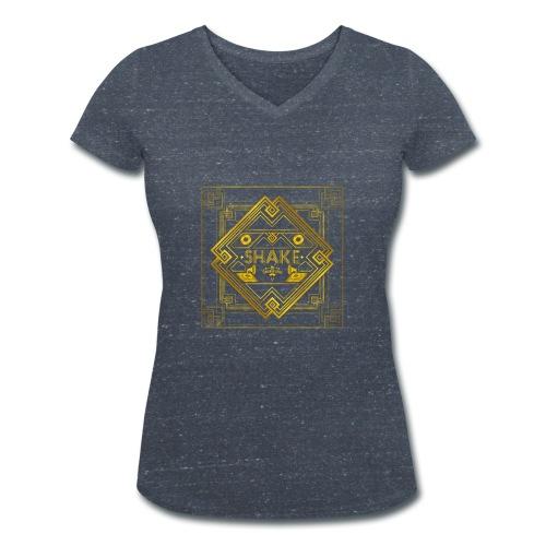 AlbumCover 2 - Women's Organic V-Neck T-Shirt by Stanley & Stella