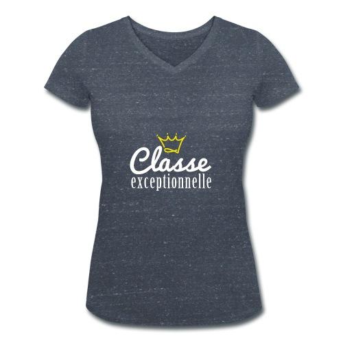 Classe exceptionnelle - T-shirt bio col V Stanley & Stella Femme