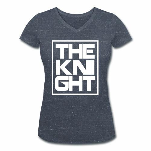 The Knight Blok kader - Vrouwen bio T-shirt met V-hals van Stanley & Stella