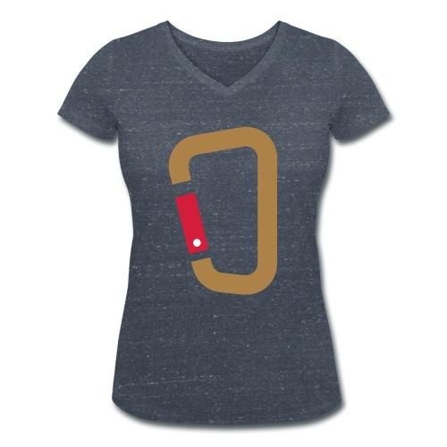 Karabin - Frauen Bio-T-Shirt mit V-Ausschnitt von Stanley & Stella