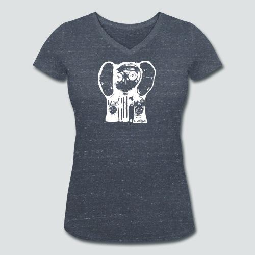 Labuphant png - Frauen Bio-T-Shirt mit V-Ausschnitt von Stanley & Stella