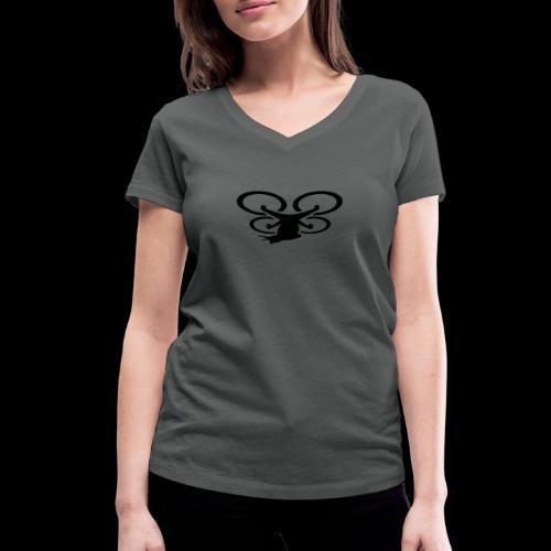 Einseitig bedruckt - Frauen Bio-T-Shirt mit V-Ausschnitt von Stanley & Stella