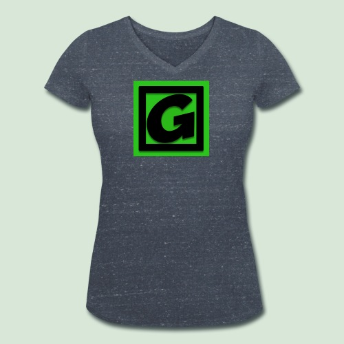 G-team Logo - Women's Organic V-Neck T-Shirt by Stanley & Stella